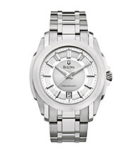 Bulova® Men's Stainless Steel Longwood Watch