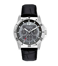 Caravelle® by Bulova Men's Multifunction Leather Watch