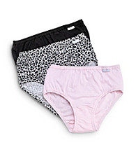Jockey® Elance® 3-pk. Assorted Hipster Briefs - Pink/Leopard/Black