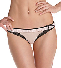 DKNY® Fancy Frills Thongs - Pretty in Pink