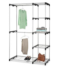 LivingQuarters Double Rod Freestanding Closet