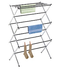LivingQuarters Chrome Folding Drying Rack