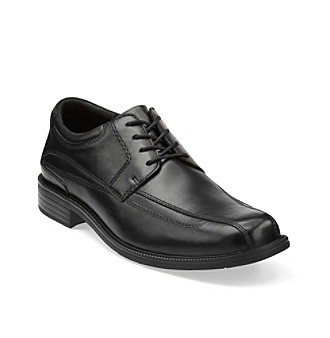 "Clarks® Men's ""Girona"" Oxford Dress Shoe - Black"