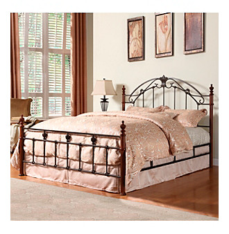 Home Interior Artistic King Size Metal Bed