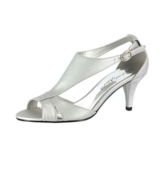 "Easy Street ""Eclipse"" T-Strap Pumps Women's"