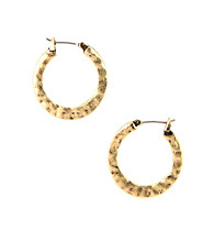 Nine West Vintage America Collection® Small Burnished Goldtone Hoop Earrings