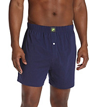 John Bartlett Statements Men's Solid Knit Boxers