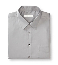 Geoffrey Beene® Men's Gunmetal Sateen Regular Fit Dress Shirt