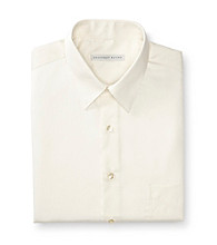 Geoffrey Beene® Men's Almond Sateen Regular Fit Dress Shirt