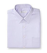 Geoffrey Beene® Men's Light Purple Sateen Regular Fit Dress Shirt