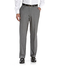 Kenneth Roberts Platinum® Men's Light Gray Sharkskin Dress Pants