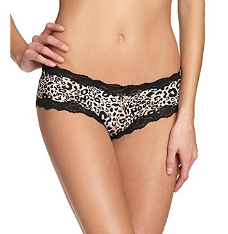 Maidenform® Scalloped Cheeky Hipster Briefs - Animal Print