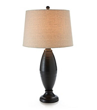 3DS Ribbed Bronze Table Lamp