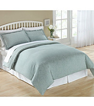 Elite Home Products Reflections Reversible 300-Thread Count Cotton Duvet Sets