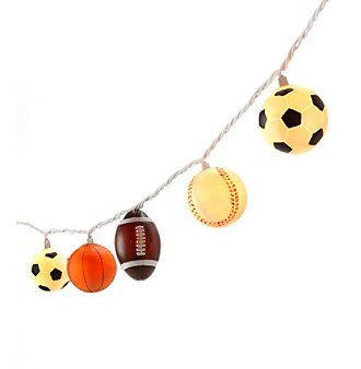 LivingQuarters Kids Sports String Lights