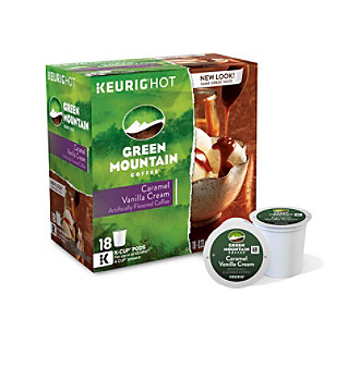 Keurig Green Mountain Coffee® Caramel Vanilla Cream 18-pk. K-Cups®