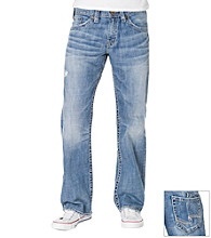 Silver Jeans Co. Men's Light Washed Relaxed Fit Jeans