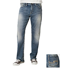 Silver Jeans Co. Men's Medium Washed Grayson Bootcut Jeans