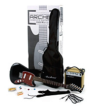 Archer VN32 Black Electric Guitar Pack