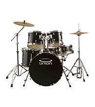 Union U5 5-pc. Drum Set with Hardware, Cymbals, and Throne