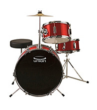 Union UJ3 3-pc. Junior Drum Set with Hardware, Cymbals, and Throne