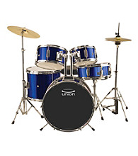 Union UJ5 5-pc. Junior Drum Set with Hardware, Cymbals, and Throne