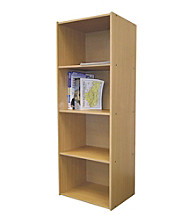 Ore International™ 4-Level Bookshelf