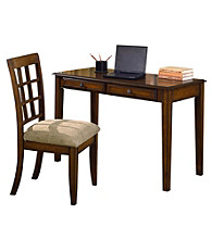 Ore International™ Hawthorne Home Office Desk & Chair Set