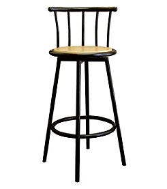 Ore International® Set of 2 Swivel Barstools