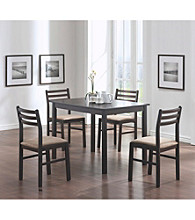 Monarch Casual Cappuccino Veneer 5-pc. Dining Set