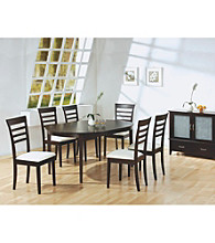 Monarch Casual Cappuccino Oval Dining Collection