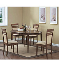 Monarch Walnut Oval Dining Collection