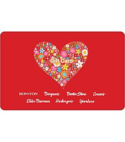 Gift Card - Floral Heart