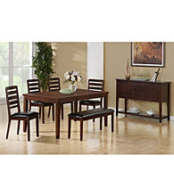 Monarch Oakdale Dark Espresso Dining Collection