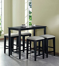 Monarch Black Grain Counter Height Dining Collection