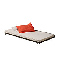 W. Designs Black Twin Roll-Out Trundle Bed Frame