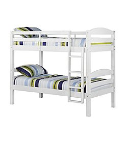 W. Designs White Twin Solid Wood Bunk Bed