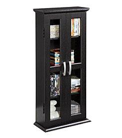 W. Designs Black Media Storage Tower