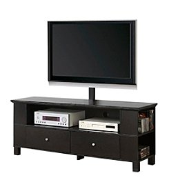 "W. Designs Black 60"" TV Console with Multipurpose Storage Areas"