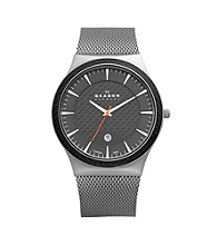 Skagen Denmark Men's Titanium Mesh Watch