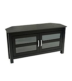 "W. Designs 44"" Cordoba Black Corner TV Console"