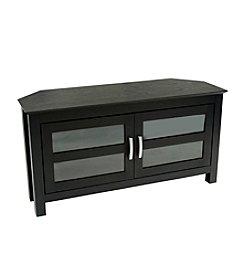 """W. Designs 44"""" Cordoba Black Corner TV Console"""