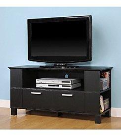 """W. Designs 44"""" Columbus Black TV Console"""