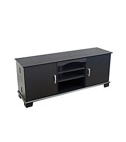 "W. Designs 60"" Jamestown Black Storage TV Console"