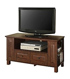 "W. Designs 44"" Columbus Traditional Brown TV Console"