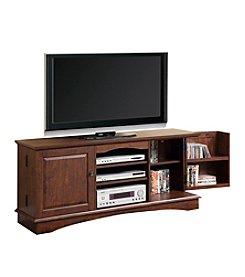 "W. Designs 60"" Jamestown Traditional Brown Media Storage TV Console"