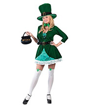 Adult Luscious Leprechaun Costume