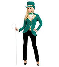 Adult Pretty Saint Patty Costume