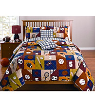 Recess Quilt Set by LivingQuarters Kids