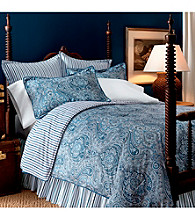 Townsend Paisley Bedding Collection by Lauren Ralph Lauren